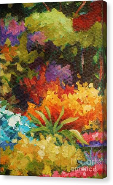 Post-modern Art Canvas Print - Natural Radiance by John Clark