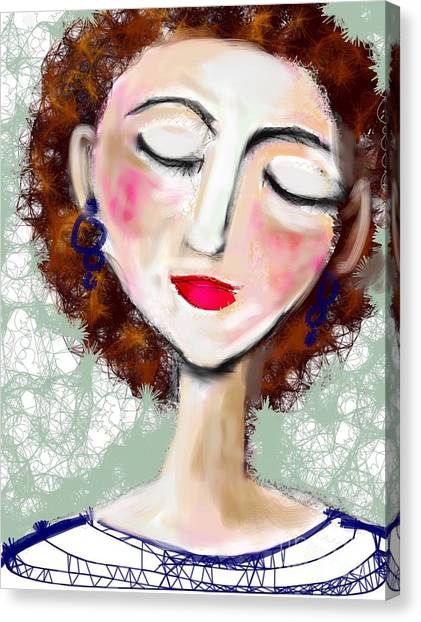 Natural Redhead Canvas Print