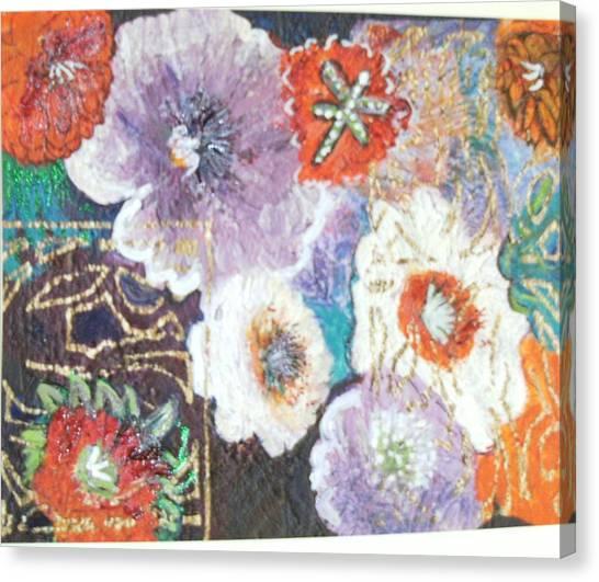 Naturally Rich Canvas Print by Anne-Elizabeth Whiteway