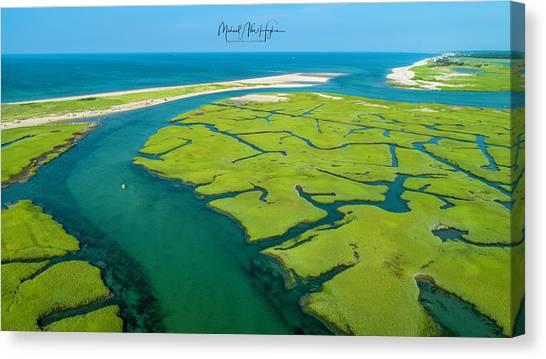 Nature Kayaking Canvas Print