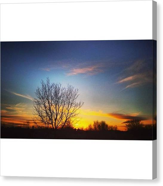 Red Camo Canvas Print - Peace by Mnwx Watcher