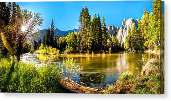 Yosemite Canvas Print - Nature's Awakening by Az Jackson
