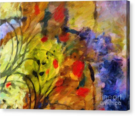 Natures Colorplay Canvas Print