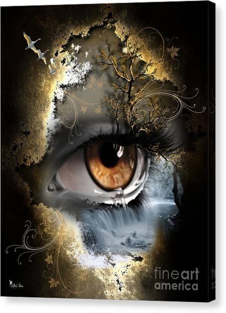 Natures Eye Canvas Print