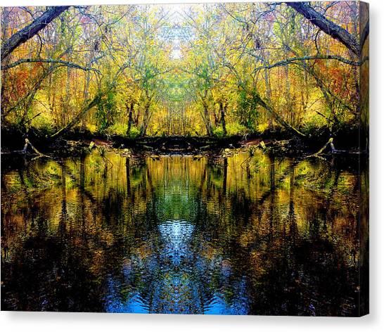 Natures Gate Canvas Print