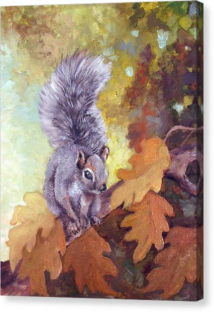 Nature's Guardian Canvas Print by Audie Yenter