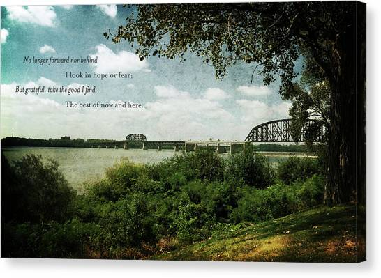 Natures Poetry Canvas Print