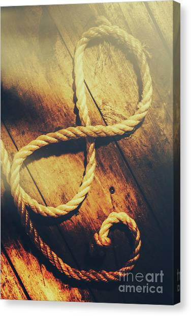 Knot Canvas Print - Nautical Infinity by Jorgo Photography - Wall Art Gallery