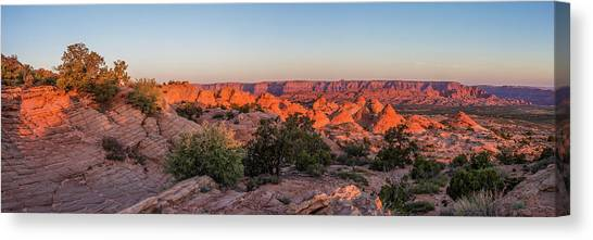 Navajo Land Morning Splendor Canvas Print
