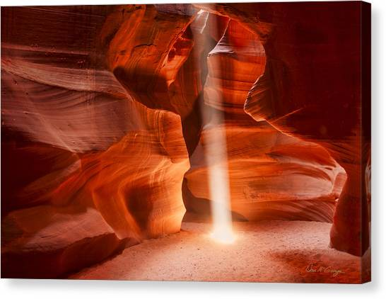 Navajo Light Canvas Print