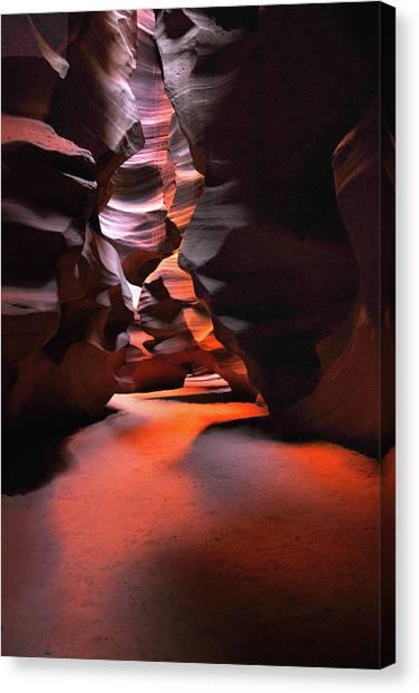 Navajo Magic Antelope Canyon Canvas Print