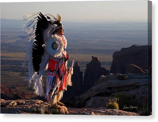 Navajo Sunrise Canvas Print