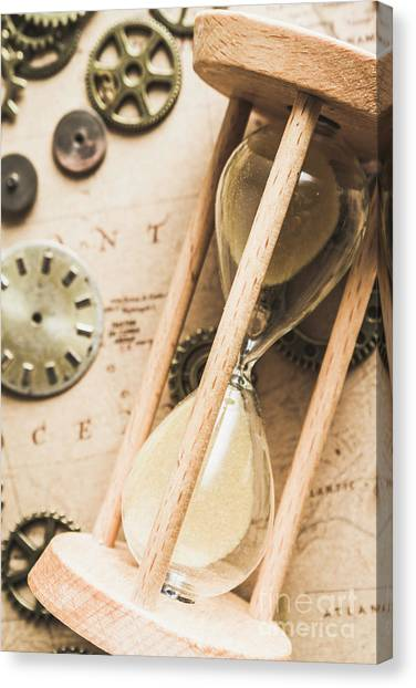Old World Canvas Print - Navigating Vintage Time by Jorgo Photography - Wall Art Gallery