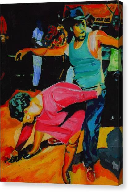 N'awlins Canvas Print by Vel Verrept