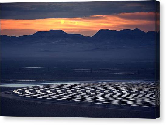 Nay For Fossil Fuel. Yea For Renewable Energy Canvas Print