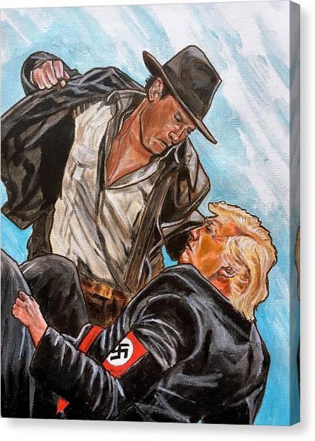 Nazis. I Hate Those Guys. Canvas Print