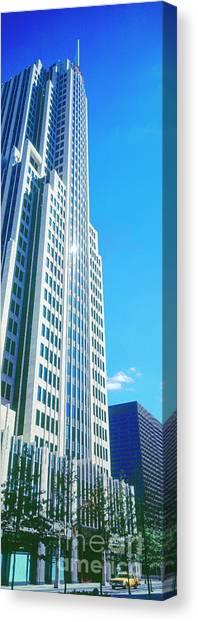 Nbc Tower Canvas Print