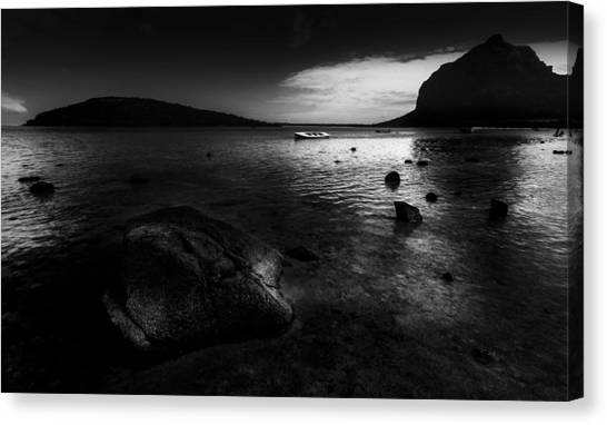 Near Le Morne Canvas Print