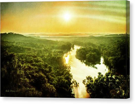 Near Table Rock Lake Canvas Print