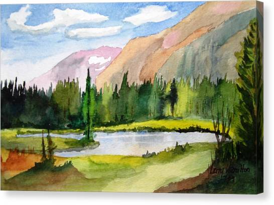 Near Two Medicine Montana Canvas Print