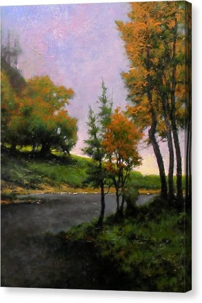Canvas Print - Near Woodland by Jim Gola