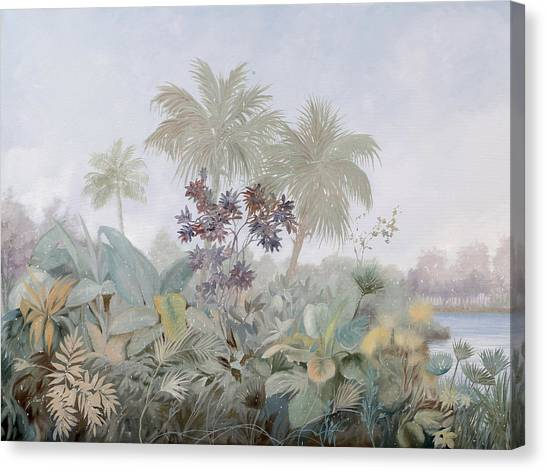 Foggy Canvas Print - Nebbia Nebbiosa by Guido Borelli