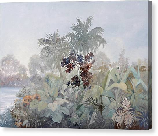 Foggy Canvas Print - Nebbiolina Fitta by Guido Borelli