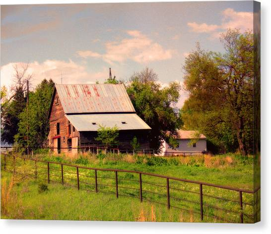 Nebraska In The Summer Afternoon Canvas Print by Tyler Robbins