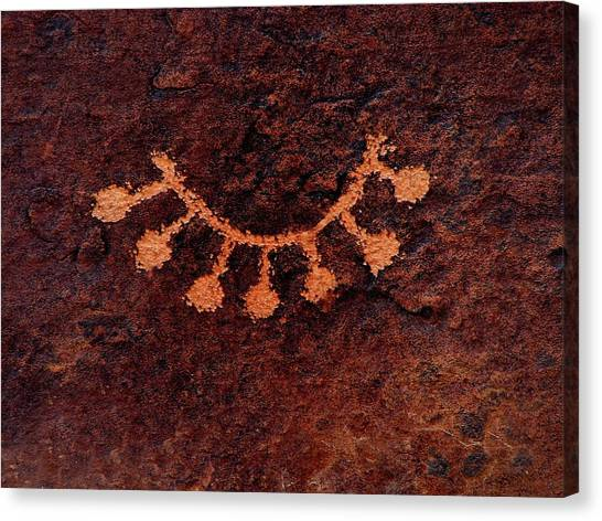 Canvas Print - Necklace Glyph by Russell Wilson
