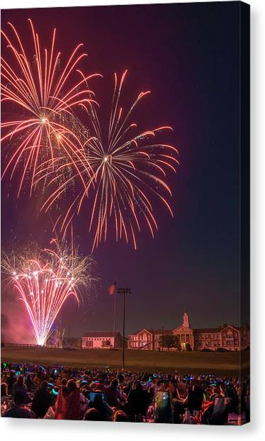Needham Celebrates The 4th Of July Canvas Print