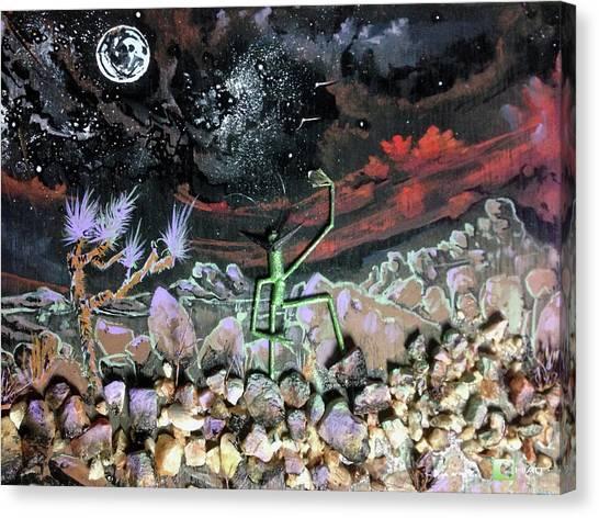 Haystack Needle Canvas Print
