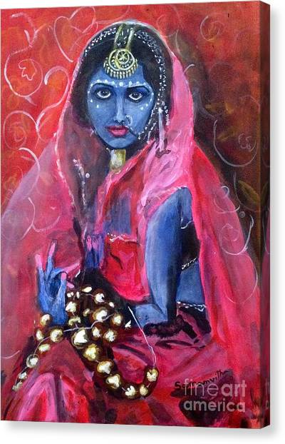 Artisan Jewelry Canvas Print - Neela by Samanvitha Rao