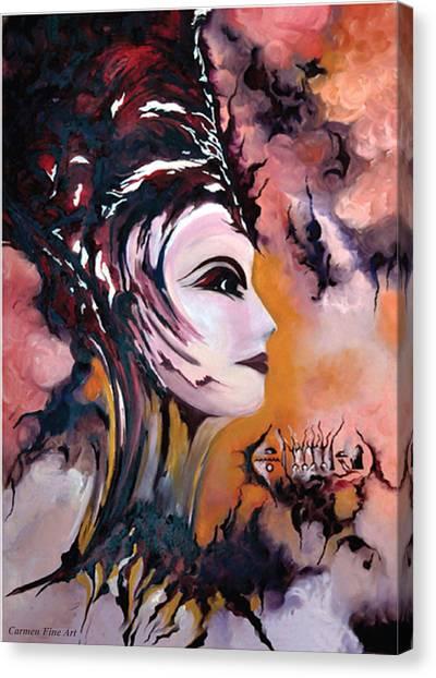 Canvas Print - Nefertiti - Act With Modern Elegance by Carmen Fine Art