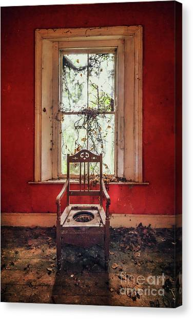 Derelict Canvas Print - Neglect by Evelina Kremsdorf