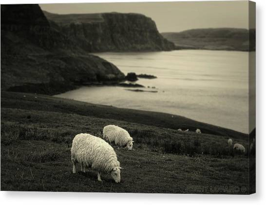 Scotland Canvas Print - Neist Point by Jerry LoFaro