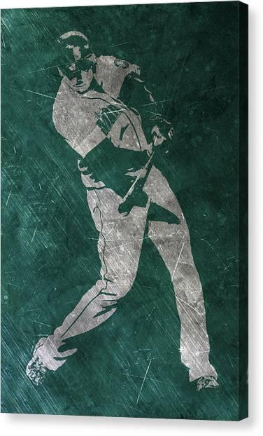 Seattle Mariners Canvas Print - Nelson Cruz Seattle Mariners Art by Joe Hamilton