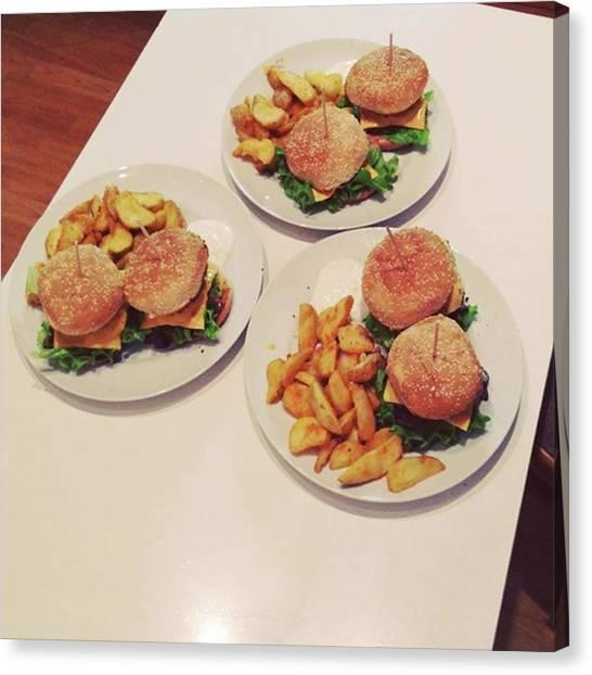 Lassos Canvas Print - #nenazrany #homemade #burger #food by Stano Lasso