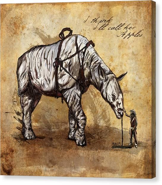 Steampunk Canvas Print - Neobedouin - Cowboy by Mandem