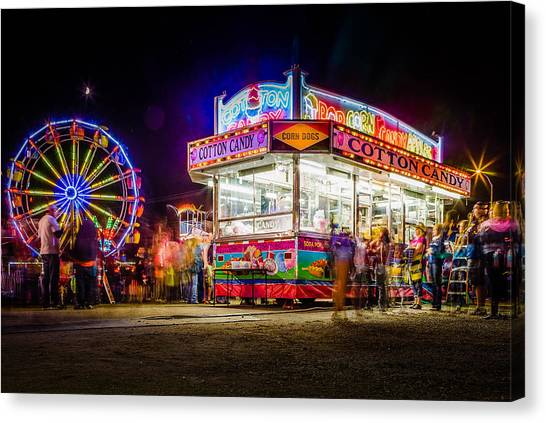 Neon Fun Canvas Print by Bryan Moore