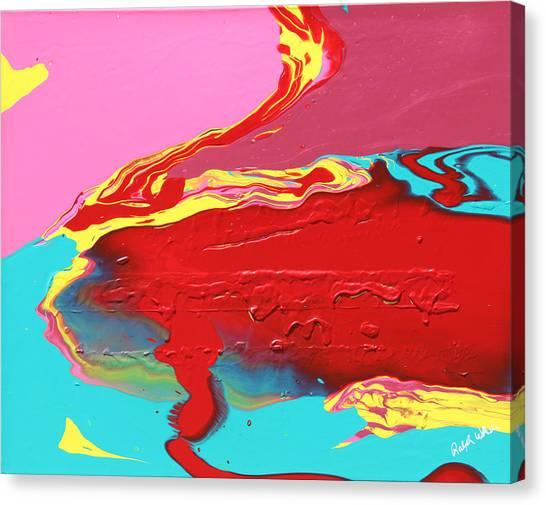 Neon Tide Canvas Print