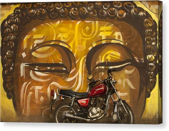 Nepal Buddha Canvas Print