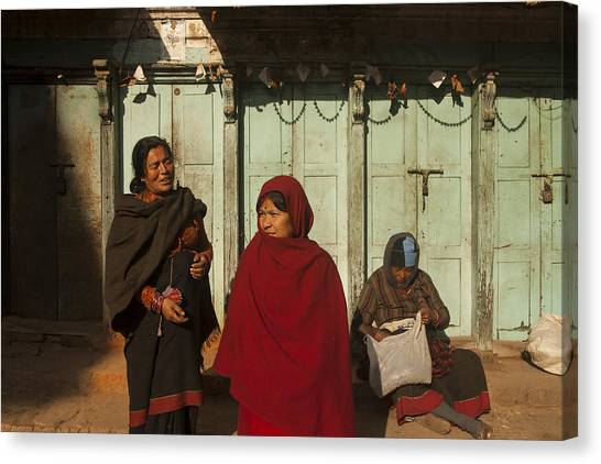 Nepalese Afternoon Canvas Print