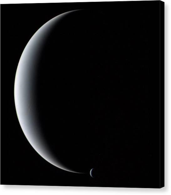 Neptune And Triton Canvas Print