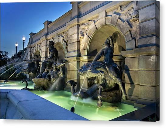 Neptune Fountain Canvas Print