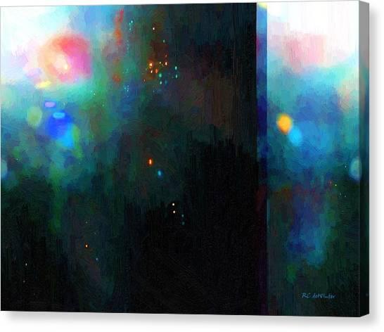Neptune's Monolith Canvas Print