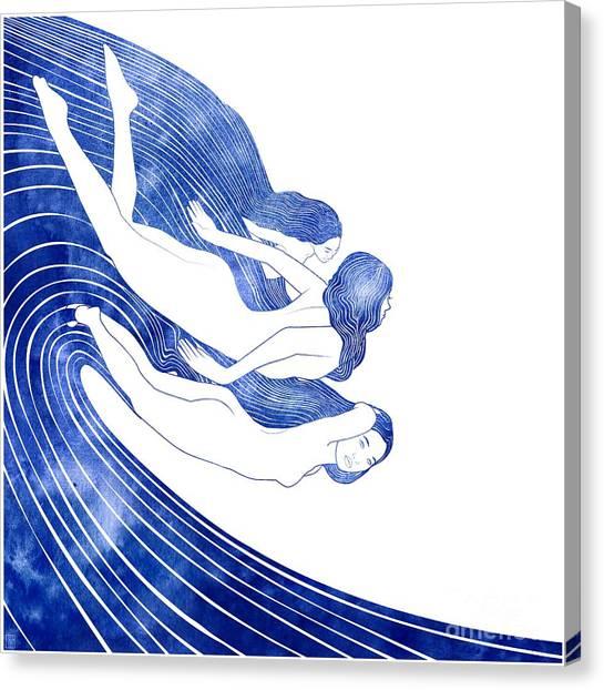 Nereids Canvas Print