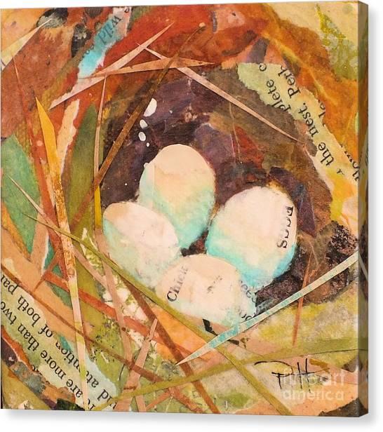 Nest 5 Canvas Print