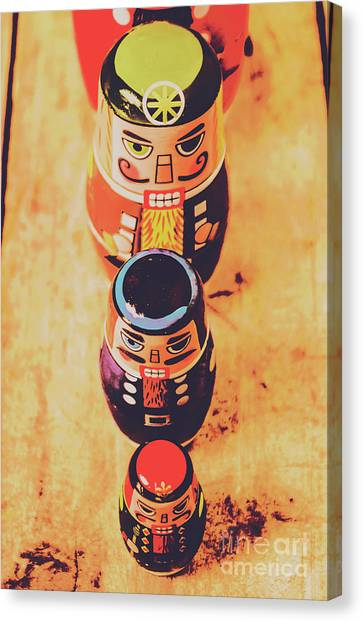 Russian Art Canvas Print - Nesting Dolls by Jorgo Photography - Wall Art Gallery