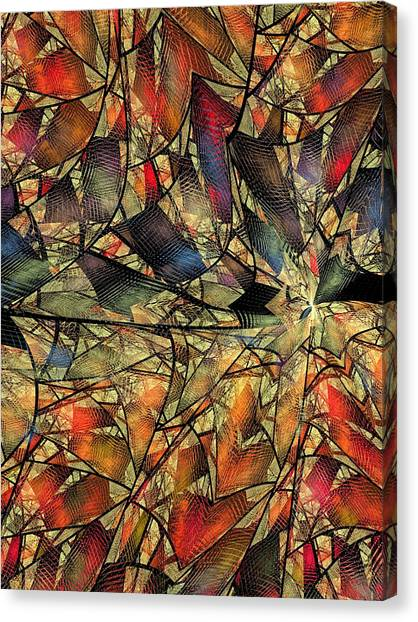 Net Webbed Wall Canvas Print by Ian Duncan Anderson