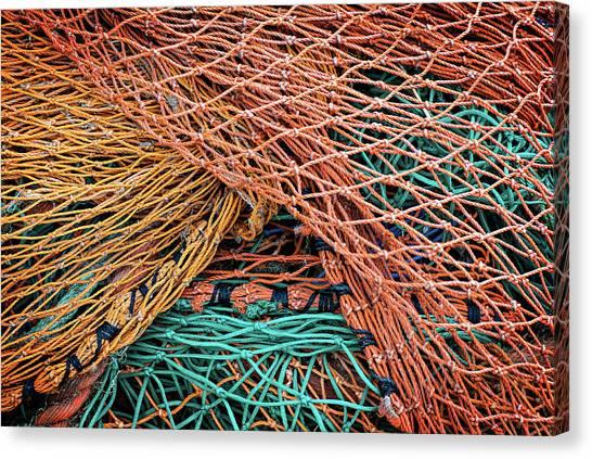 Nets On Skye Canvas Print